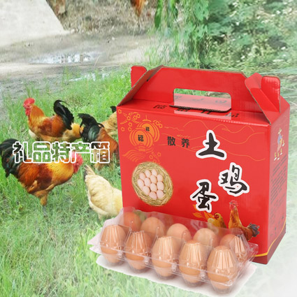 土鸡蛋包装